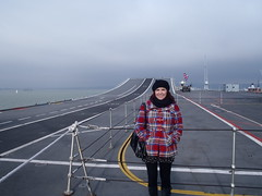 Anna at the launch ramp (Seanathon) Tags: boat ship historic portsmouth aircraftcarrier arkroyal dockyard hmsvictory