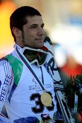 Vincent, champion du monde de slalom