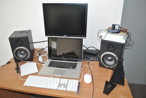 Макбук для записи музыкальных дорожек