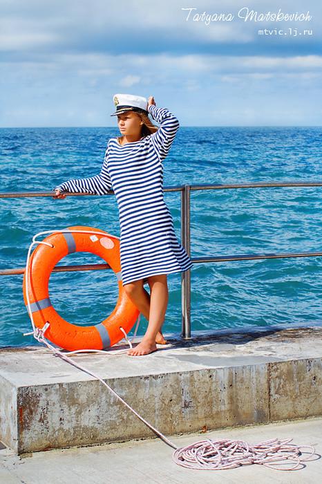 sea, girl, summer