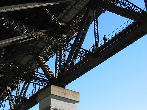 Sydney Harbour Bride Climb Catwalk
