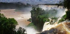 Majestic Iguazu Falls (Gregor  Samsa) Tags: argentina trip vacation roadtrip exploration journey december january summer waterfall waterfalls fall falls river pano panorama majestic awesome iguazu iguazufalls iguazúfalls iguazú iguassufalls iguassu iguaçufalls iguaçu iguazuriver