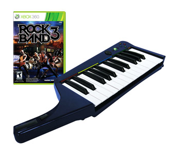 rock band 3 and keyboard