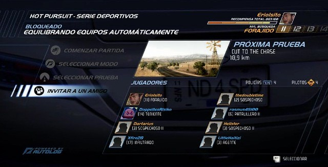 NFS Hot Pursuit (Megapost) Modo Online PC