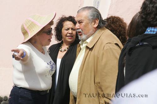 Raúl Vargas y colegas en Acho