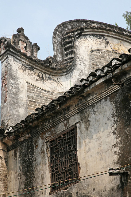 Old building in Fuli village, China