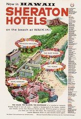 A Bit Of A Hint.... (glen.h) Tags: travel tourism vintage fifties 1950s 50s hotels sheraton advertisments