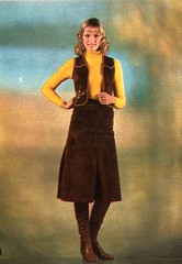 The 1970s-fashionable skirt and top (april-mo) Tags: vintage 1971 boots the70s the1970s vintagemagazine 1970sfashion highleatherboots vintagemagazineforwomen 1971frenchmagazine 1971maxiskirt