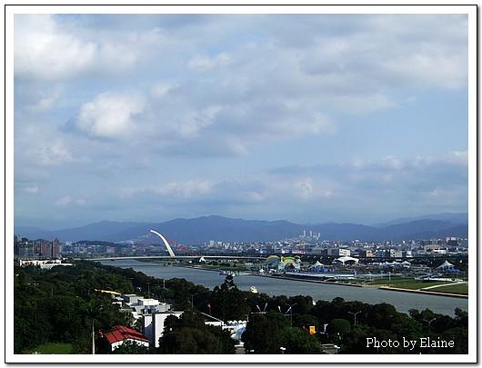 從圓山眺望台北盆地