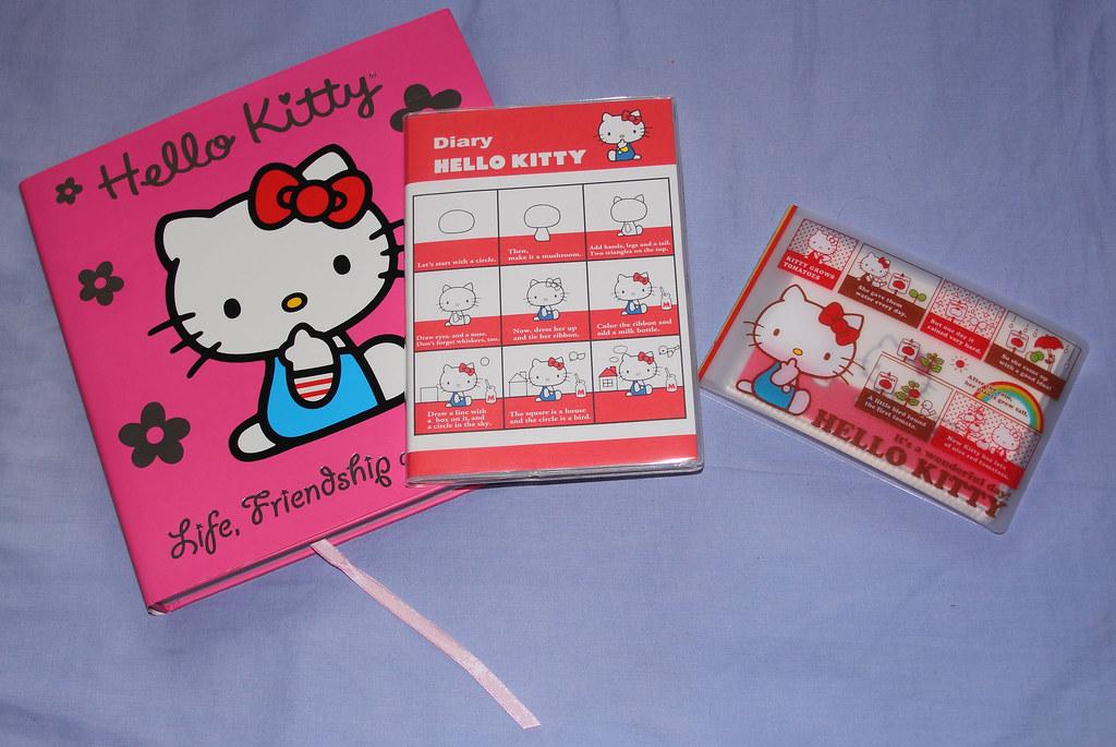 Hello Kitty book, diary & photo album