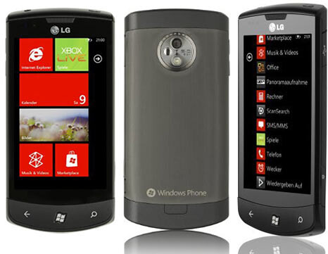 LG Optimus 7 e900 Red
