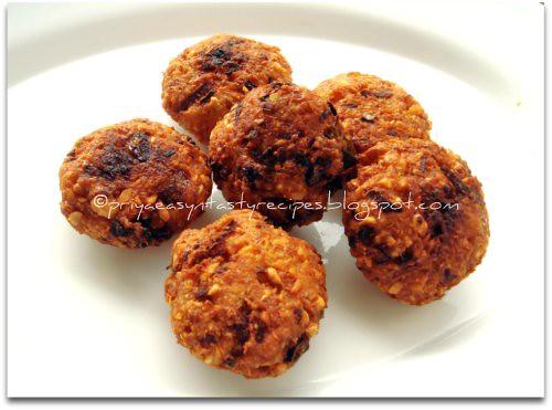 Chickpeas & Bread Masala Vadai