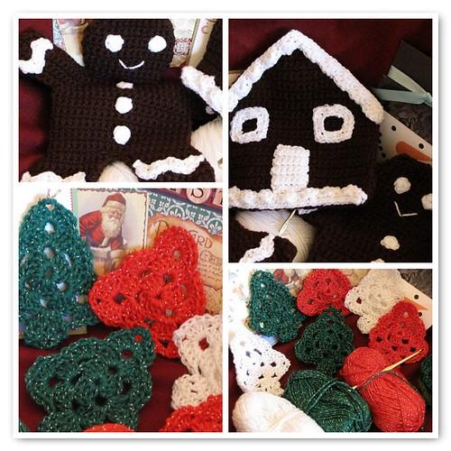 Crochet Christmas Mosaic