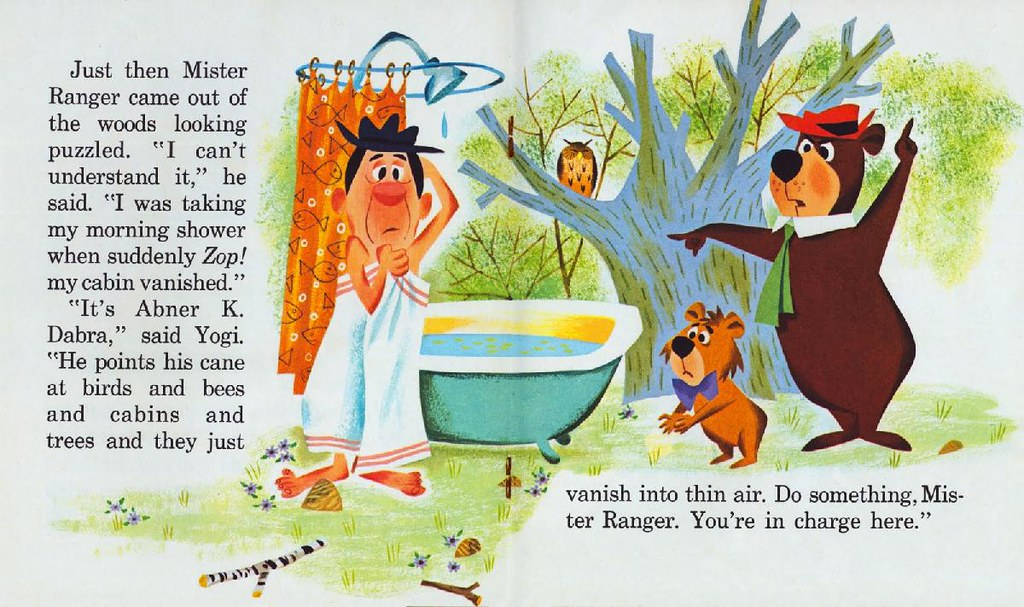 Yogi Bear & the Cranky Magician009