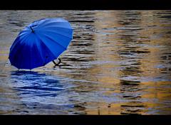 Singing in the rain.... (Sante sea) Tags: italy reflection rain umbrella italia lucca tuscany toscana riflessi pioggia ombrello piazzadellanfiteatro ottobre2011challengewinnercontest