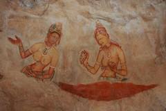 - Les Demoiselles de Sigiriya - (dcem) Tags: srilanka serendib sigirya 400d canonefs1855mm3556