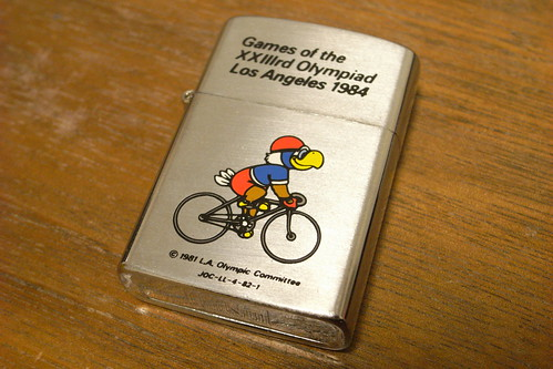 Oil Lighter - 1984 LA Olympic