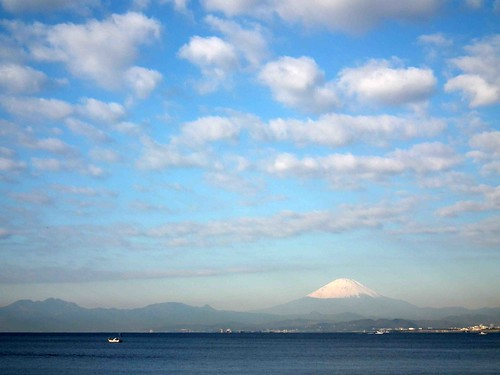 Mt.Fuji & Mackerel sky ~富士と鰯雲