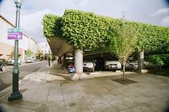 Downtown Parking (Adam Freidin) Tags: santacruz film kodakmax400 nikkormatel