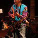 Charles Neville on cowbell