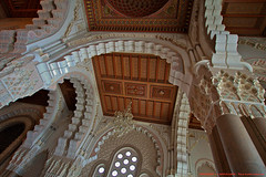 La Grande Mosque Hassan II (HDR) (l'apple-cafe) Tags: casa nikon islam maroc maghreb casablanca hassan hdr highdynamicrange roi afrique mosque atlantique ocan musulman hassanii d90 grandemosque mosquehassanii ocanatlantique nikond90 arabomusulman lagrandemosquehassanii