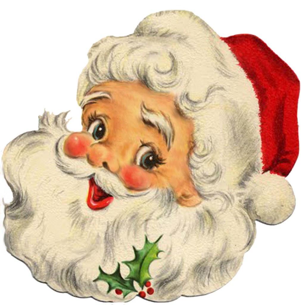 Vintage Santa Images 19