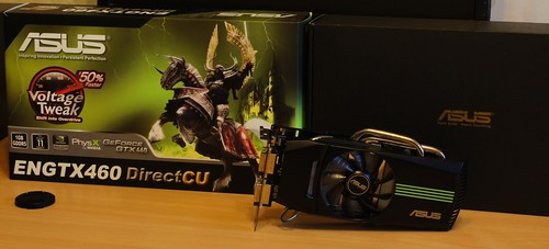 Asus GTX460 1GB DirectCU prieš MSI Radeon 5850 OC