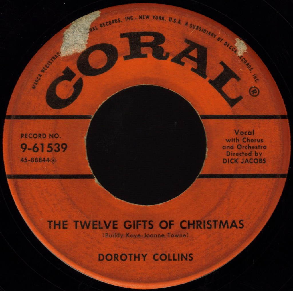 THE TWELVE GIFTS OF CHRISTMAS by Dorothy Collins