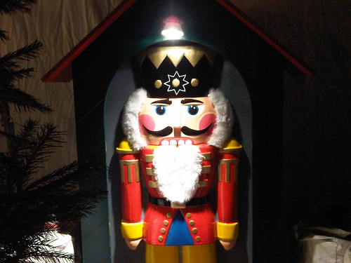 Nutcracker Watches You Sleep