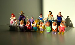 Disney's Snow White And The Seven Dwarfs Queen And Prince On Far Right Are Made By Mattel Not Sure Who Made Female Figure On Far Left And Male Figure Second From Far Right Plus The Fairy Godmother Third From Left (Kelvin64) Tags: white snow toy toys happy model cartoon models selection prince hobby disney queen sleepy fairy figurines seven figure animation cinderella hobbies charming figurine doc walt grumpy figures animations cartoons godmother mattel animate pastime dopey bashful dwarfs sneezy disneys pastimes animates