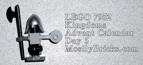 LEGO 7952 Kingdoms Advent Calendar, Day 5