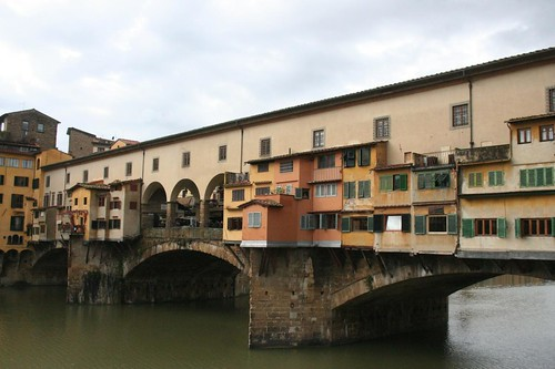 Ponte Vecchio em Florença Itália