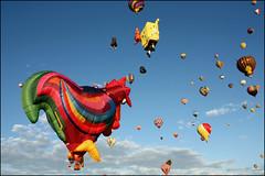 Albuquerque International Balloon Fiesta (K. Sawyer Photography) Tags: sky balloons balloon floating hotairballoon balloonfiesta albuquerqueinternationalballoonfiesta albuquerquenewmexico
