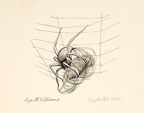 Charlotte's web, the illustration' (page 38) in Charlotte's Web the  title=