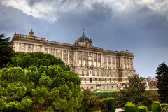 Royal Palace of Madrid (mathewbest) Tags: madrid canon cityscape hdr scky photomatix 5d2