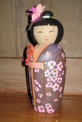 Kokeshi Doll (NatalieSW) Tags: ceramic doll pot pottery coil kokeshi