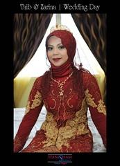 HAN_7213 (HaniSham) Tags: wedding portrait people love colors beautiful nikon couple muslim islam hijab explore fullframe nikkor fx brunei melayu malay kahwin nikah darussalam tadition bersanding berbedak tradisi hanisham