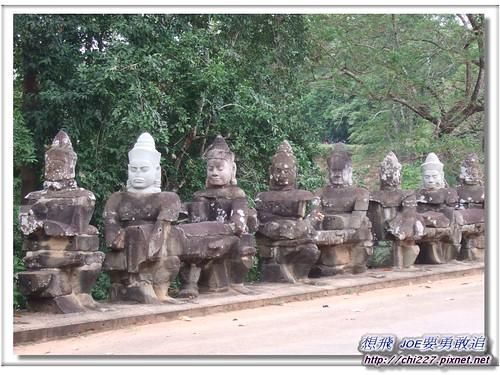 吳哥城-南城門