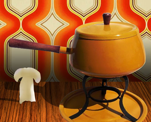Porcini fondue