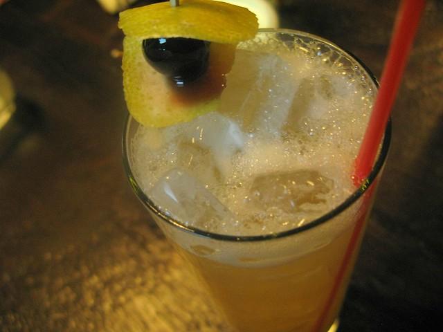 Hostaria del Piccolo's Dotto cocktail by Caroline on Crack