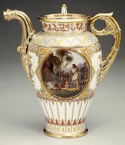 002-Cafetera Porcelana de Sèvres 1836-decorador Jean Charles Develly-© 2000–2010 The Metropolitan Museum of Art