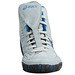 Asics Aggressor Grey and Royal Blue Wrestling Shoes