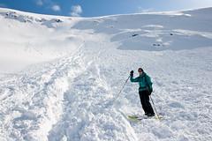 20100424-IMG_4959 (TrulsHE) Tags: winter snow ski mountains alps norway norge spring slush bowl backcountry touring hordaland fjell vår avalanche rosendal topptur snøskred skred kvinnherad vårsnø rosendalsalpene