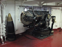 Gun on the USS Olympia (FranMoff) Tags: boat gun ship navy shell cannon olympia artillery missile cruiser uss c6 projectile ca15 protectedcruiser cl15 ix40