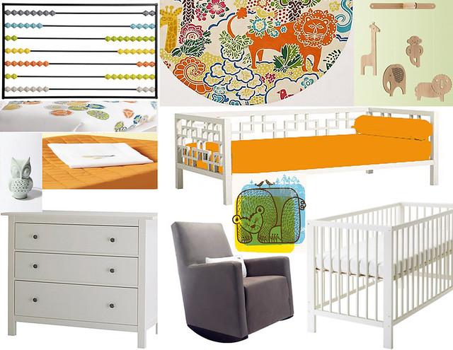 Kitschicagoan Nursery Mood Board