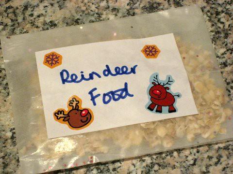 how to make reindeer food