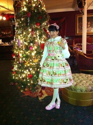 Christmas Tree x Sherry x Little Bear's Cafe