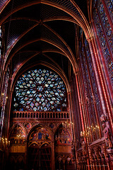 Sainte Chapelle from Paris-43 (christian_jacquet) Tags: windows paris france church zeiss louis king catholic religion gothic 9 stainedglass carl saintlouis blanche gothique chapelle saintechapelle roi 1242 architecte vitraux moyenage castille catholique architec 1248 pierredemontreuil royaute middleadge