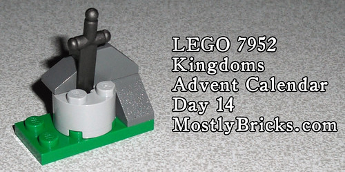 LEGO 7952 Kingdoms Advent Calendar – Day 14