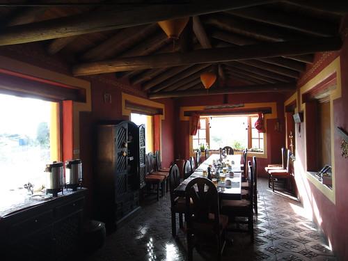 Dining Room at Secret Garden Cotopaxi